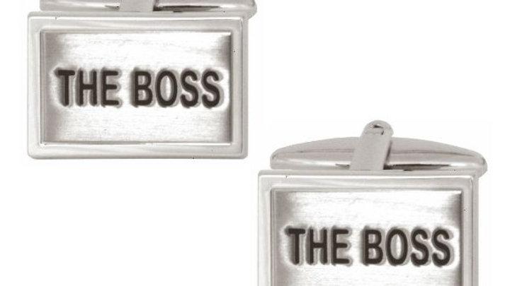 The Boss rectangular Cufflink