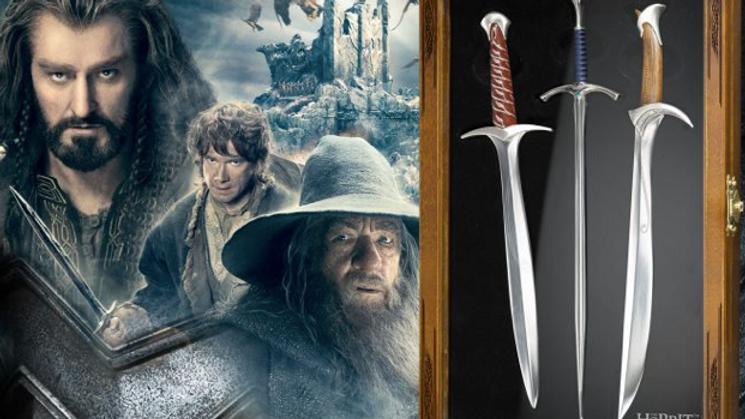 The Hobbit - Letter Opener Set (Sting, Glamdring, Orcrist)