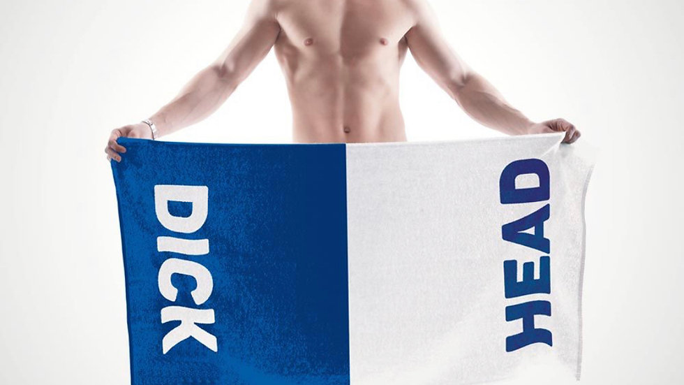 Dick Head Double Ended Towel