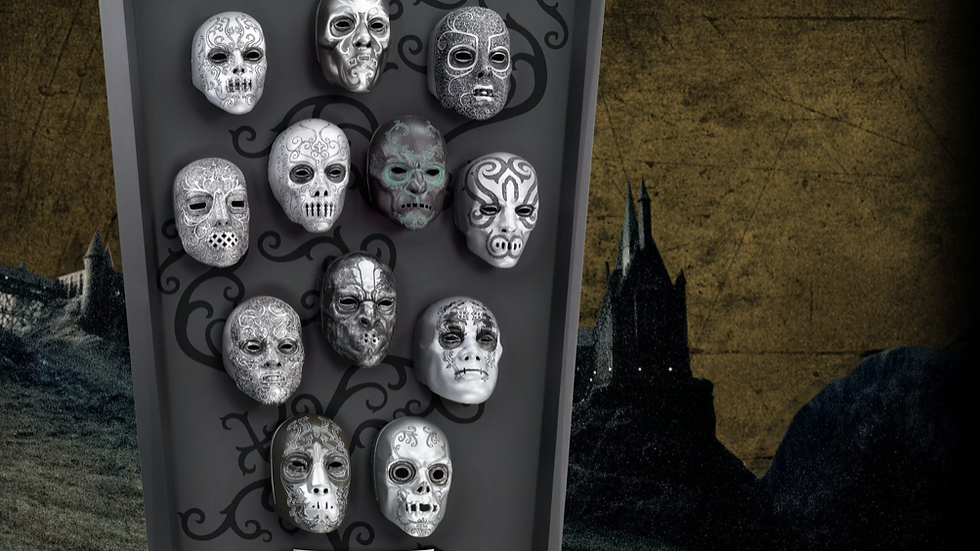 Harry Potter - Death Eater 12 Mini Mask Collection