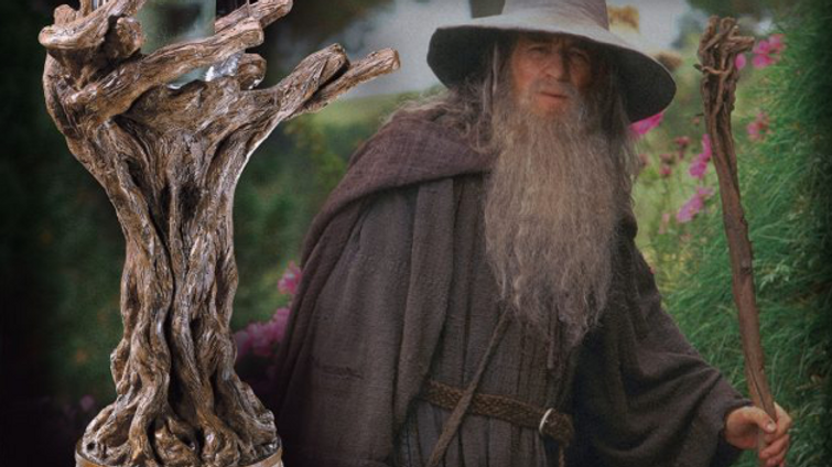 Lord Of The Rings - The Staff Of Gandalf the Grey Candle Holder