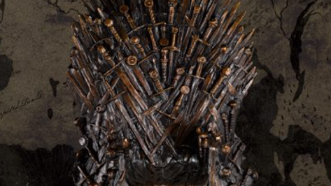 Game Of Thrones - Solid Bronze Iron Throne