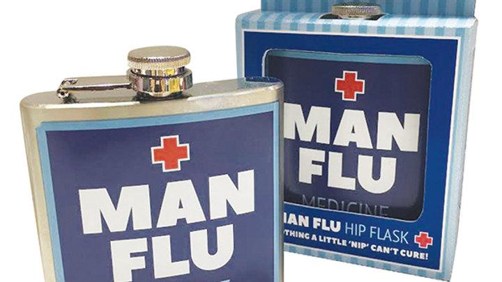 Man Flu Flask