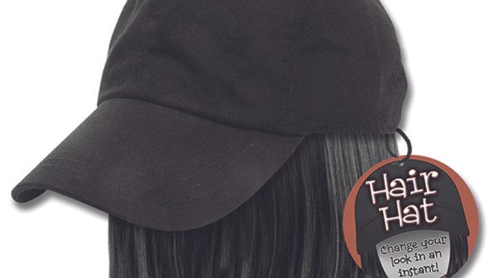 Black Hair Hat