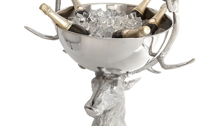 Extra Large Stag Head Punch Bowl