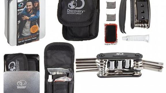 Bike Repair Kit 15-in-1 M/T  2 x Tyre Levers & Tin Box
