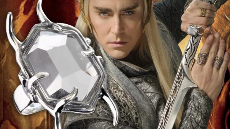 The Hobbit - Thranduil Crystal Ring