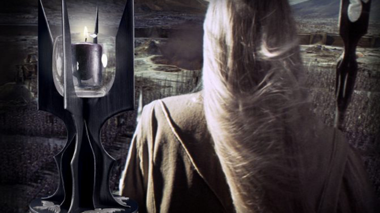 Lord Of The Rings - The Staff of Saruman Candle Holder