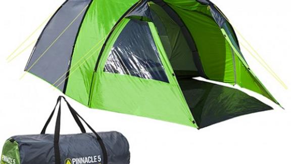 Summit Pinnacle Hydrahalt  5 Person Full Height Tent