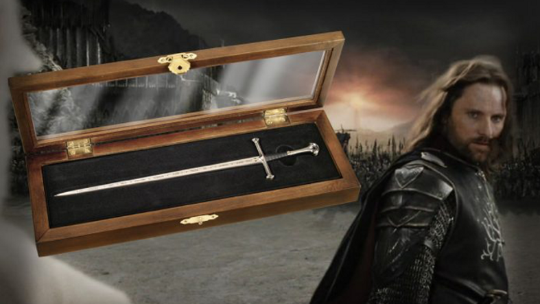 Lord Of The Rings - Aragorn Anduril Letter Opener