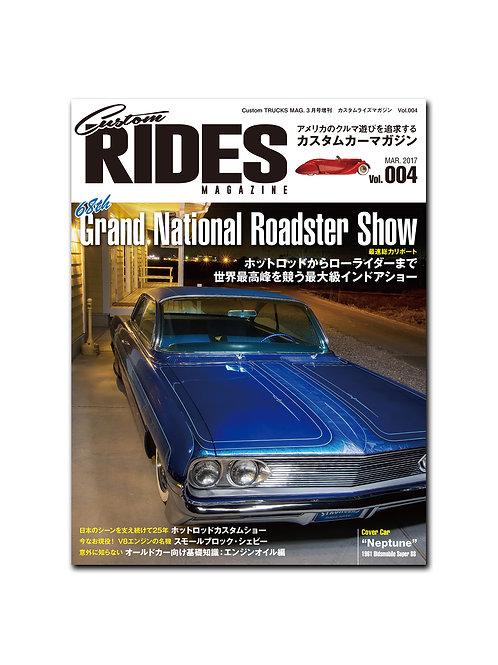 Custom RIDES MAGAZINE Vol.004
