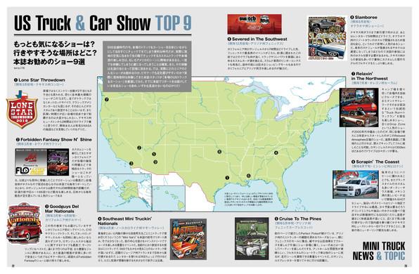 地図上にSoutheast Mini Truckin' Nationalsの開催地のポイントがはいっておりませんでした。