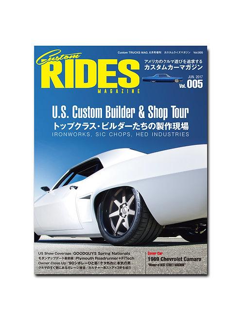Custom RIDES MAGAZINE Vol.005