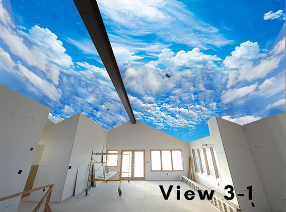Cloud Ceiling Mural Concept 3-1