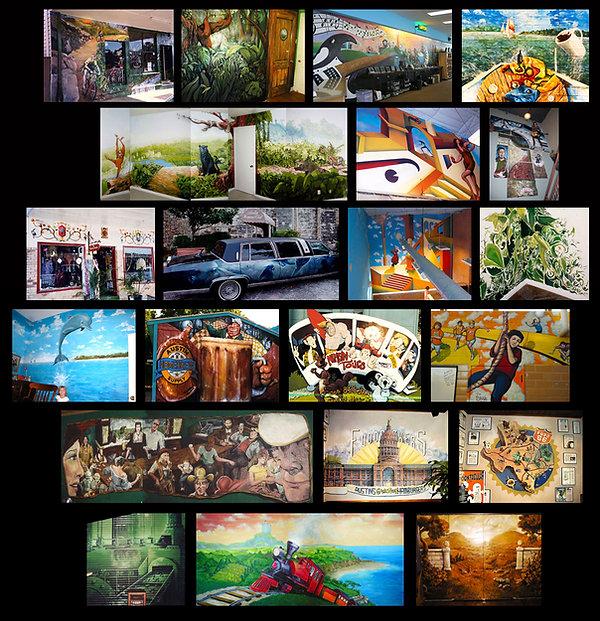 Portland Muralist Nate Jensen's murals