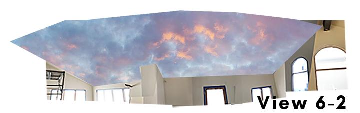 Cloud Ceiling Mural Concept 6-2
