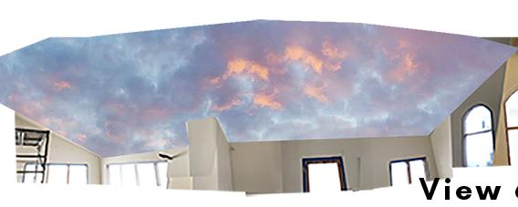 Cloud Ceiling Mural Concept 6-1