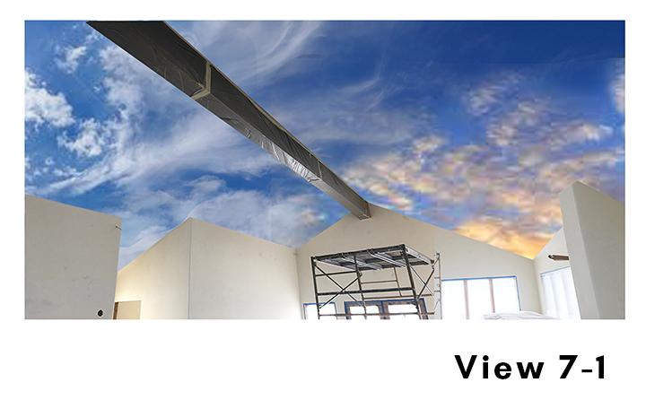 Cloud Ceiling Mural Concept 7-1