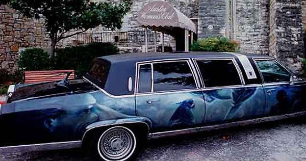 Portland muralist Nate Jensen - Sketch Limousine mural