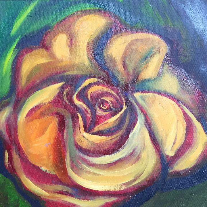 Rose Study 10x10