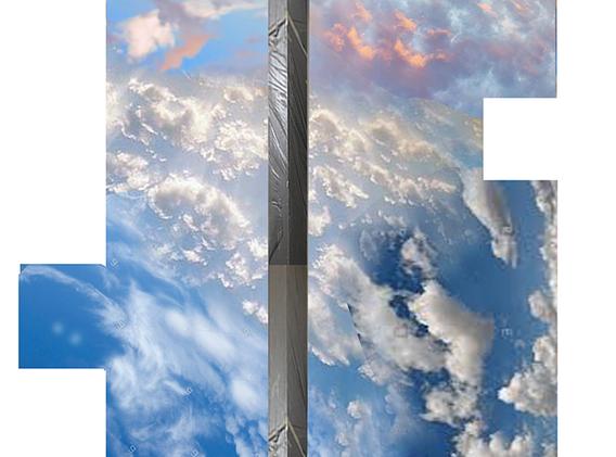 Cloud Ceiling Mural Concept 5-1