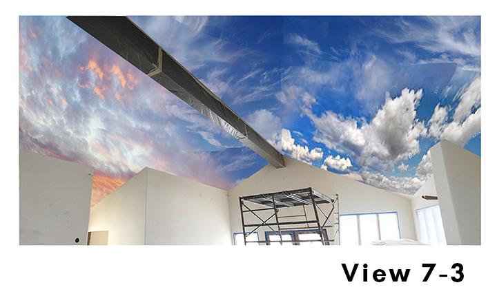 Cloud Ceiling Mural Concept 7-3