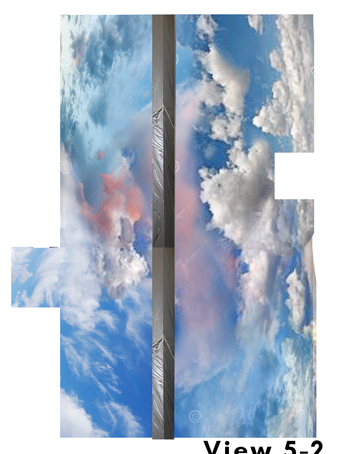Cloud Ceiling Mural Concept 5-2