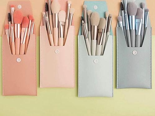 Nosheen & Tayyaba Makeup Brushes - 8 Pieces Travel Pack