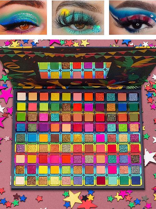 99 Colors Eyeshadow Palette