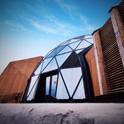 Extérieur du Pavillon © Stéphane Gueulette