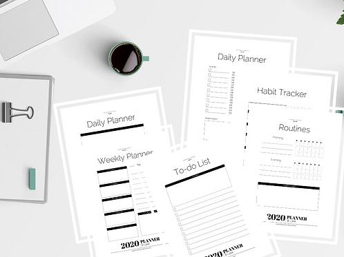 Wokebook Planner Refill Page Pack