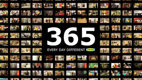 Ikea 'Every day different' campaign