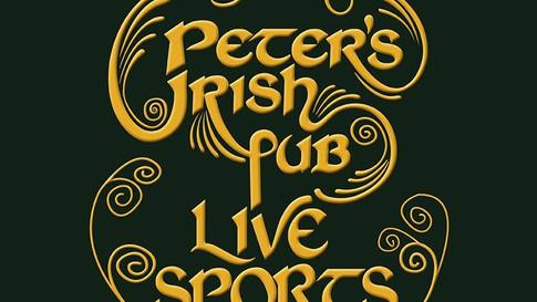 Identity Peter's Irish pub