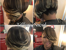 Short sassy hair by #TiffaneNicol #atlantahair #atlantavirginhair #atlantanaturalhair #atlantashorthair #cutlife #atlantahairstylist #atlant