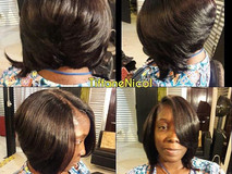 Quick weave bob... Layers & tails ....jpg