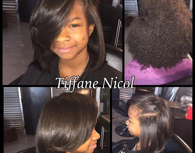 Natural Hair Silk Press, Hydration with a  deep moisture mask & trim! #beautifulhair #atlhair #atlantasilkpress #atlantanaturalhair #atlanta