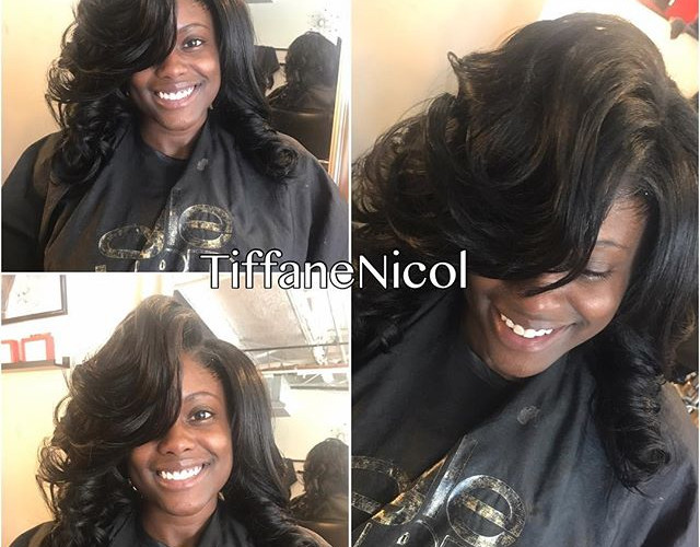The Perfect Sewin #atlantahairstylist #virginhair #lacefrontal #atlantanaturalhair #atlantavirginhair #atlantasewin #atlantahair