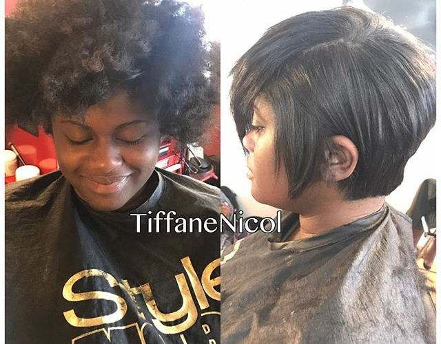 Before & After .... natural hair doesn't mean it's healthy hair.jpg