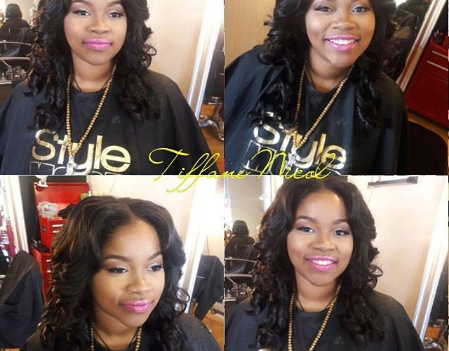 Hair & makeup by #TiffaneNicol  #atlantahairstylist #atlantasewins #sewinsatlanta