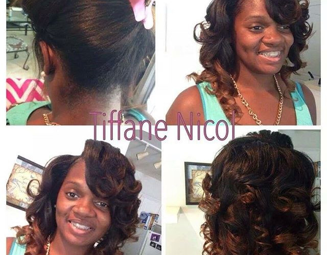 The Perfect Sewin by #TiffaneNicol #atlantahairstylists #atlantasewin #atlantaweaves #atlantahair
