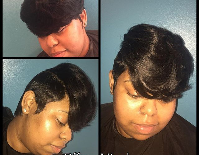 Short cut & style by #TiffaneNicol #atlantahairstylist #atlantahair #atlantashorthair #atlantahaircuts