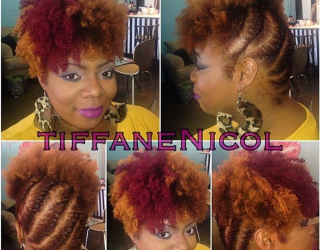 color & natural texture style by #TiffaneNicol #atlanta #atlantahair #stylemobbuuber #atlantaweave #atlantasewin #