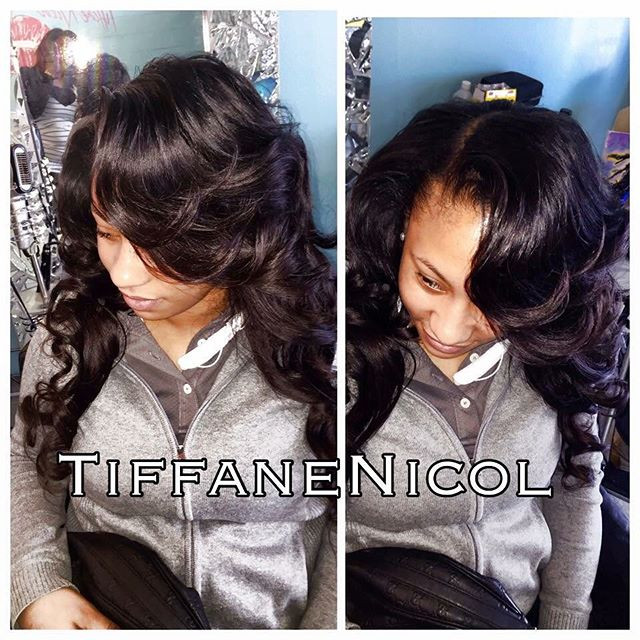 The Perfect Sewin #TiffaneNicol #atlantaweaves #atlantalacefrontal #atlantafrontals #atlanta360frontal #atlhairstylist #atlanta #atlantahair
