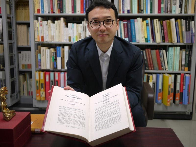 馬場紀寿さん『初期仏教 ブッダの思想をたどる』インタビューB面の岩波新書