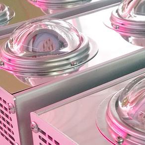 Water-cooled COB LED lights