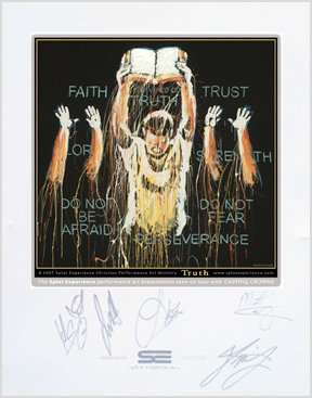 Leeland Autographed Truth Print