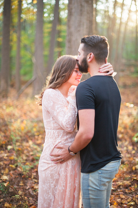 Fairfield County Forest Maternity Session _ Ashley Therese Photography-28.jpg