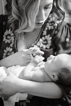 CT Newborn Session Ashley Therese Photog