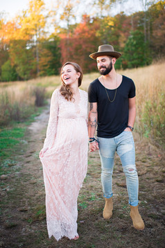 Fairfield County Forest Maternity Session _ Ashley Therese Photography-37.jpg