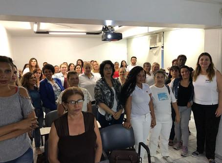 A SAID prepara sua equipe para atuação em São Paulo.